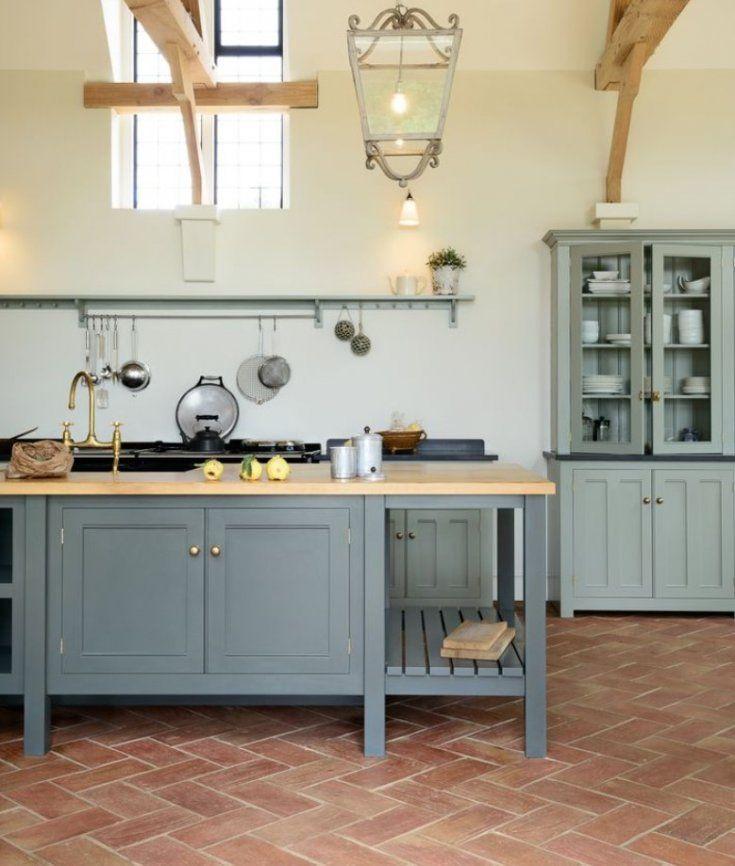 Terra-cotta Tile Kitchen Flooring