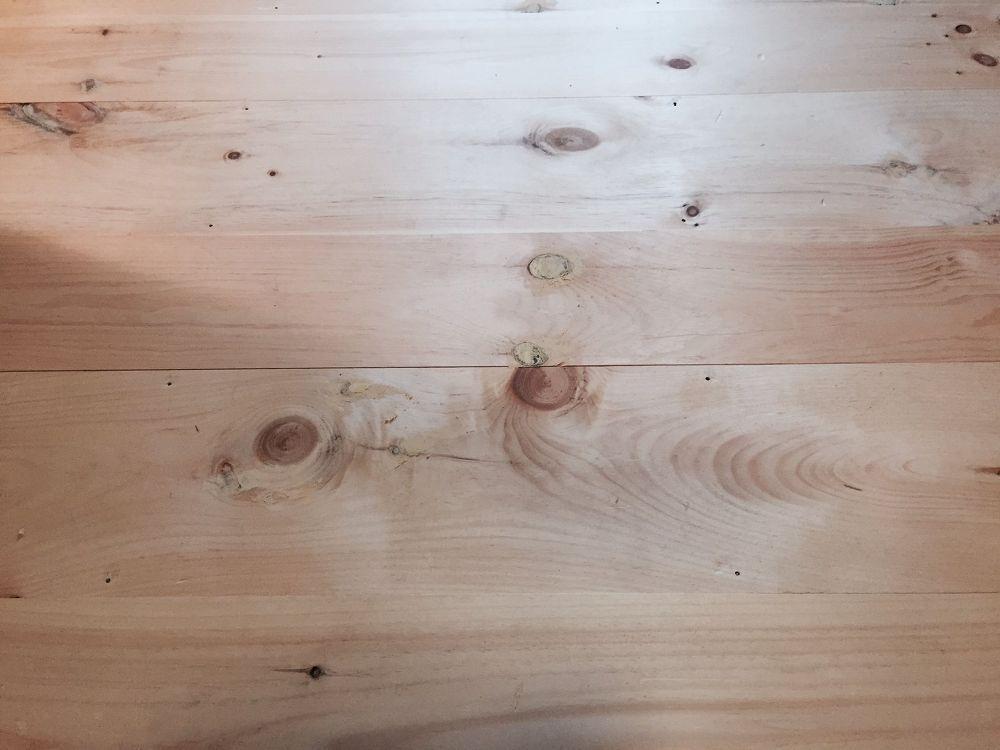 DIY Unfinished Wide Pine Floors Diy wood floors, Diy