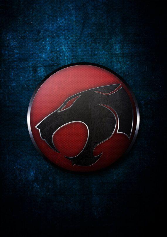 Símbolo de Thundercats super héroe símbolo Poster por GeekOnFire