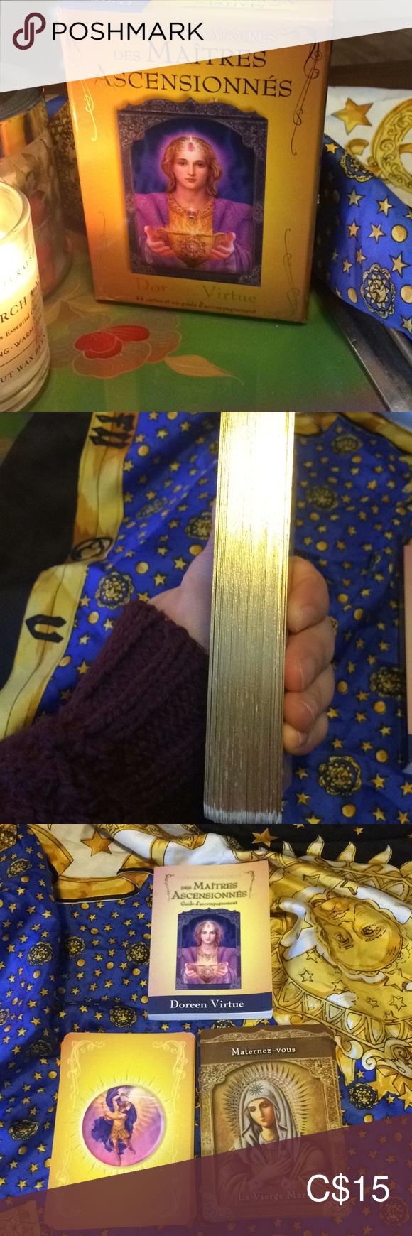 Cartes divinatoires des MaîtresAscensionnes Doreen