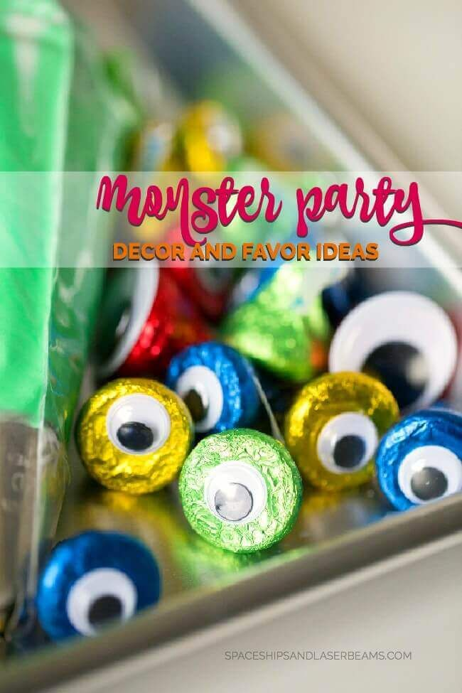 Monster Party Decor Ideas #letsbirthday #ad