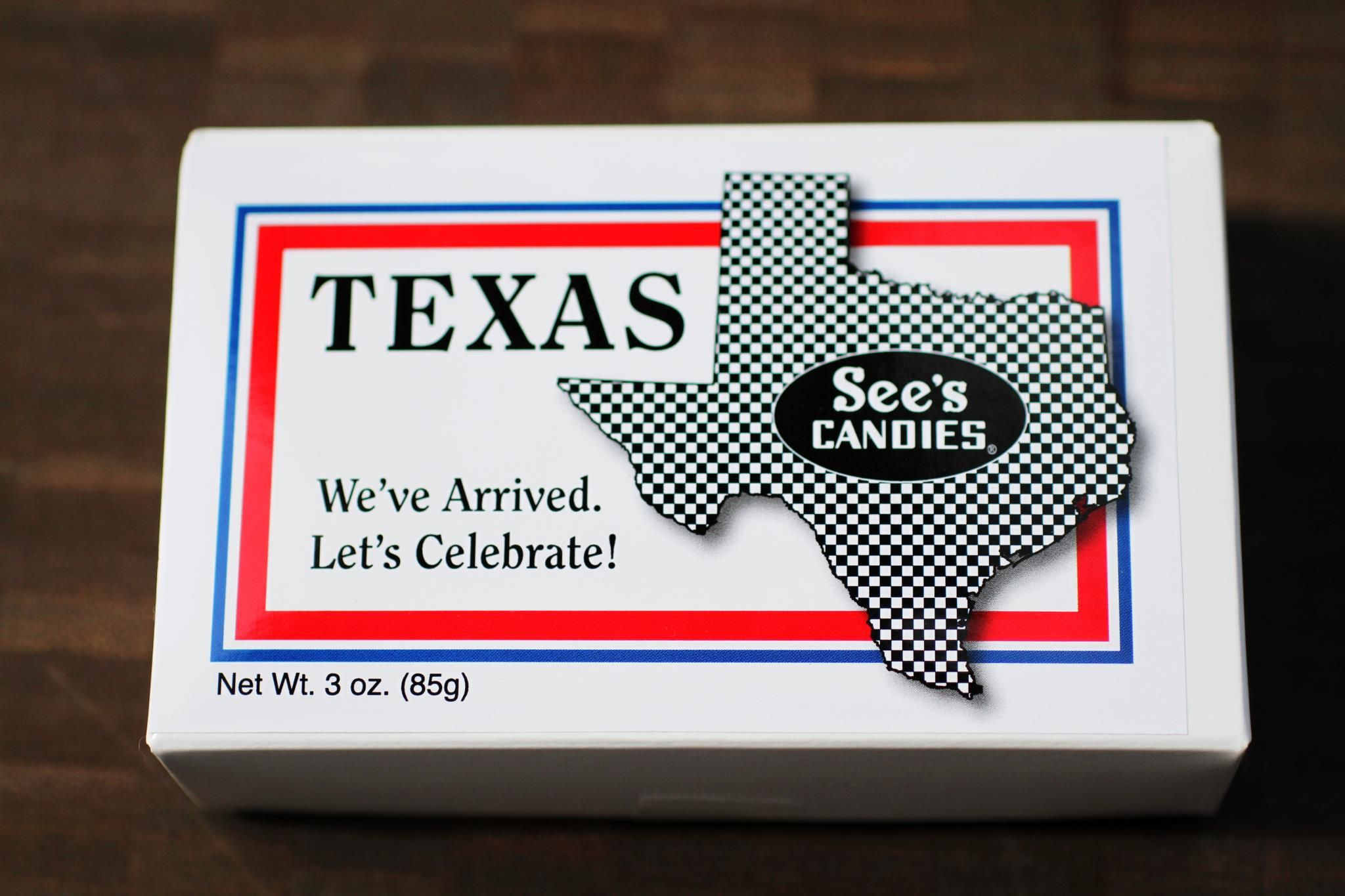 See's Candies opened its first TEXAS store today, 4/27/12