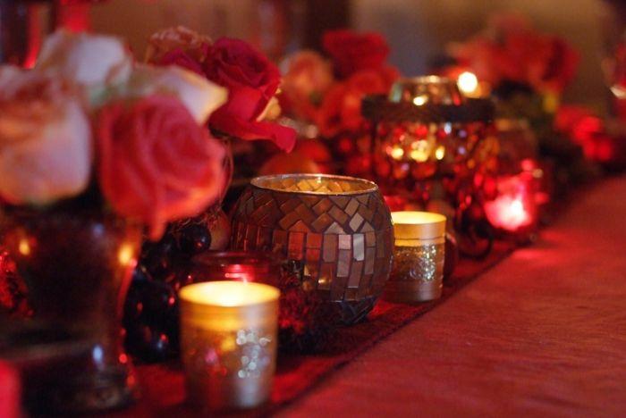 DIY Déco romantique pour fêter la Saint Valentin | Deco romantique, Diy déco, Deco