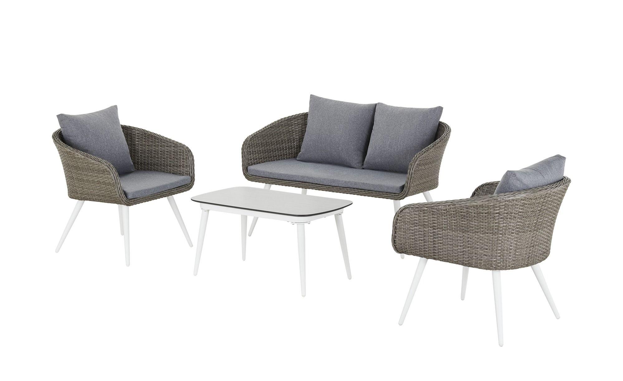 200€ geschenkt• Lounge-Set Neapel ¦ braun ¦ Aluminium ...