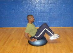 Best Abdominal Exercises on a Bosu Ball: Free Ab Workout Routine