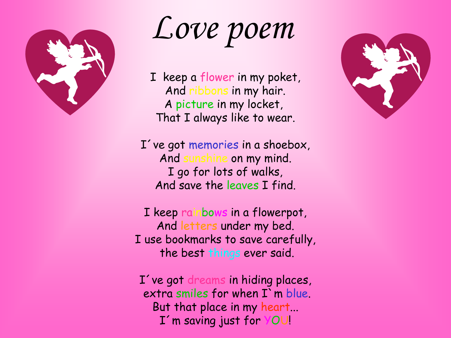 Love Poems for Him | Love poem | Projects to Try ...