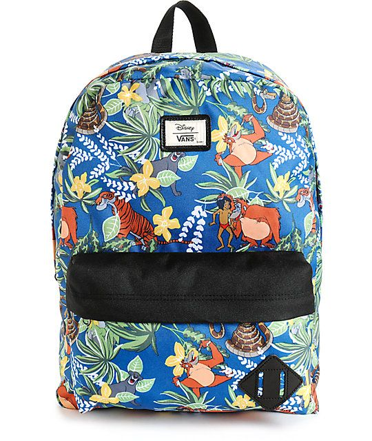 ba3968fb9c Disney x Vans Old Skool II The Jungle Book Backpack