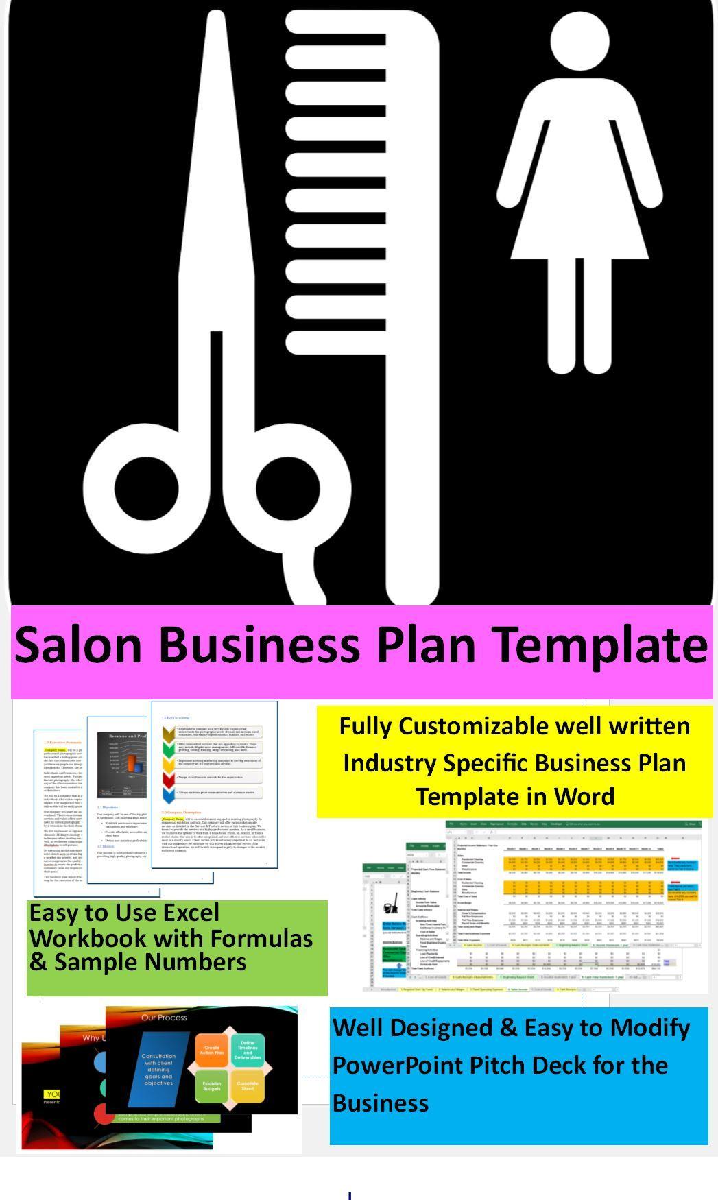 Beauty Salon Business Plan Template Beauty salon