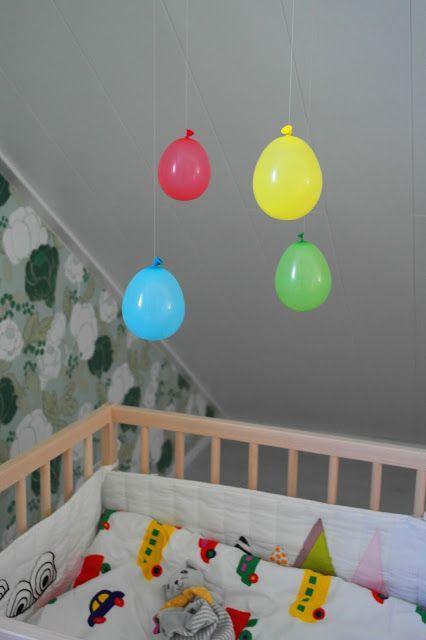 isoistapienistä, ilmapallo mobile