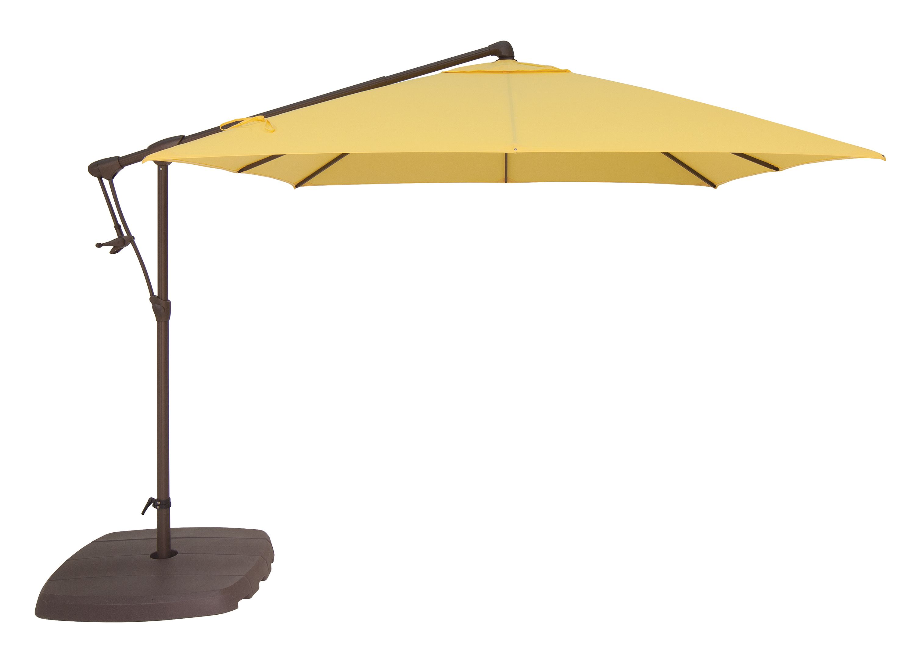 The Ag19 By Treasure Garden Is A Slender Cantilever Option With The Same Great Features As A Larger Cantilever Cantilever Umbrella Patio Umbrella Outdoor Decor