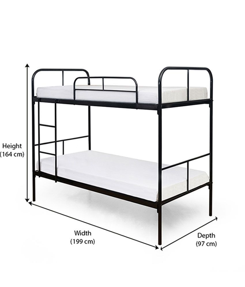 55 bunk bed mattress thickness interior design small bedroom