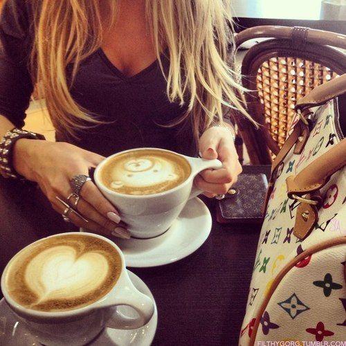 Coffee Cup Art, Food, Soy Latte