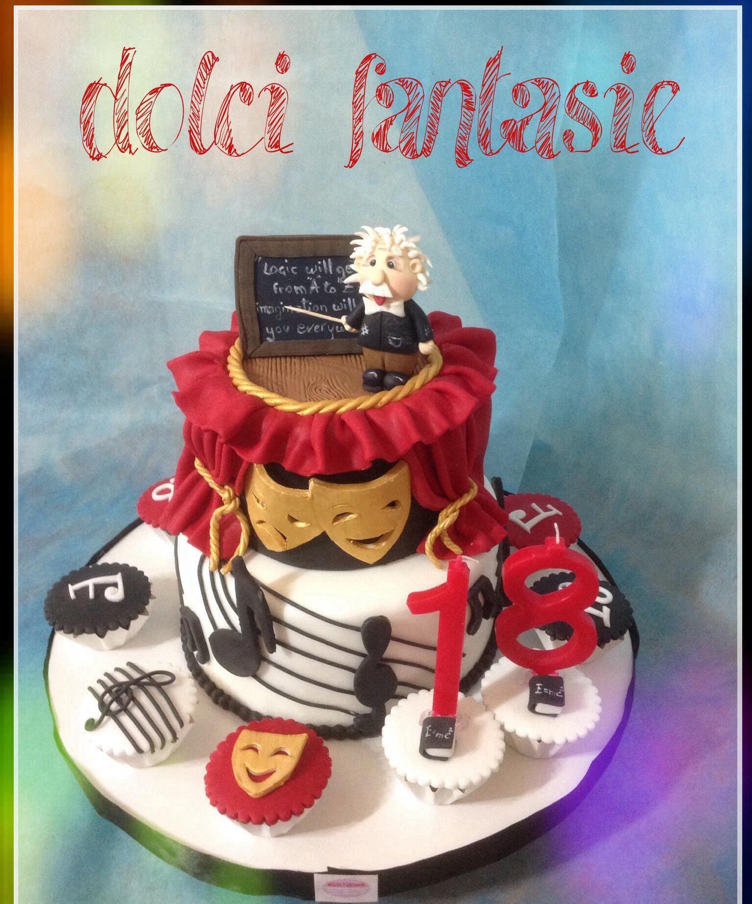 Scuola Cake Design Torino : Fisica, teatro e musica racchiusi in una torta cocina ...