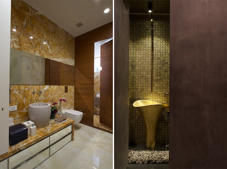 Av Fourth Dimension Designs A Luxury Apartment In Suburban Mumbai Bathrooms  Pinterest Luxury Apartments Residential Interior Design And Interior