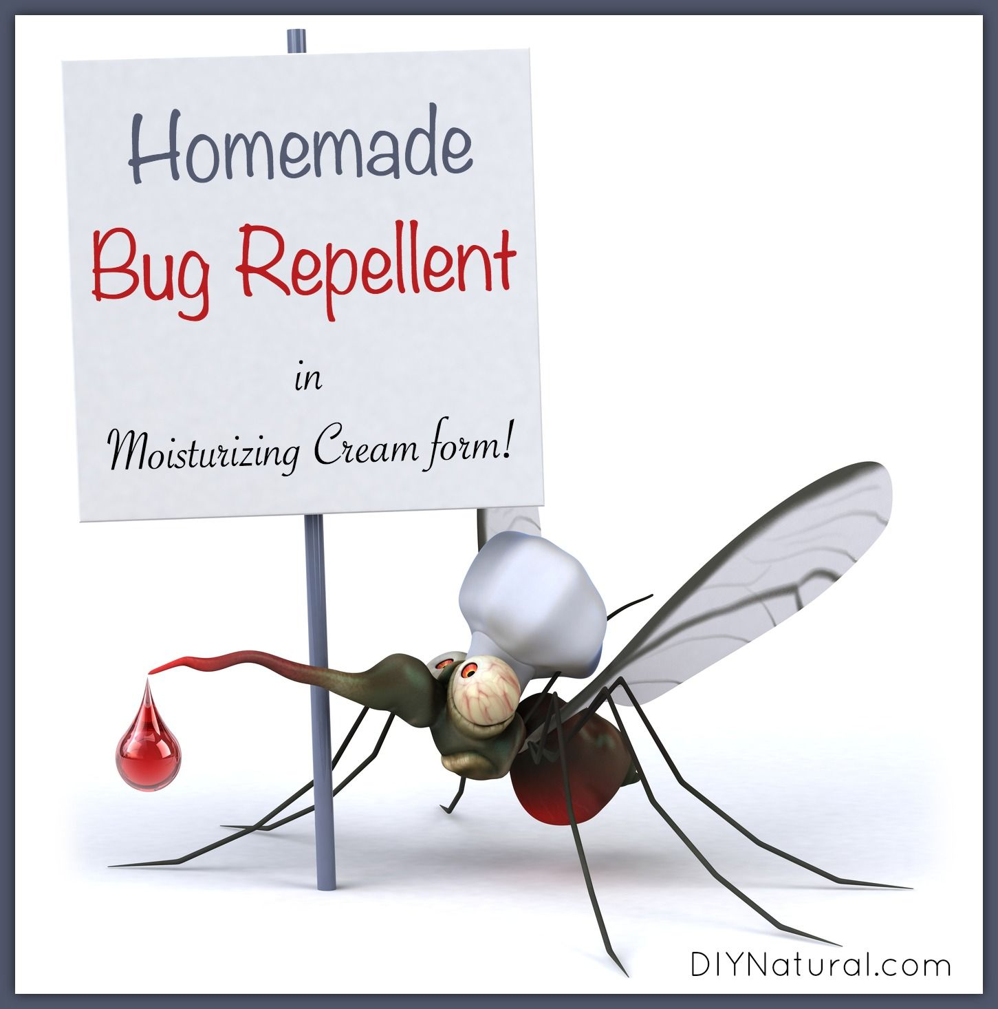 Homemade Mosquito Repellent in A Nice Moisturizing Cream | Homemade ... for Homemade Mosquito Killer  29jwn