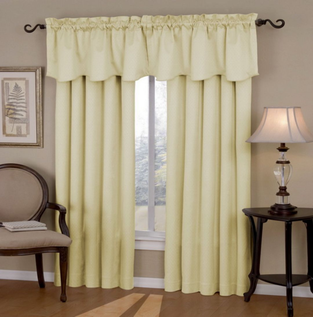 50+ Astonishing Living Room Curtains with Valance | Pinterest ...