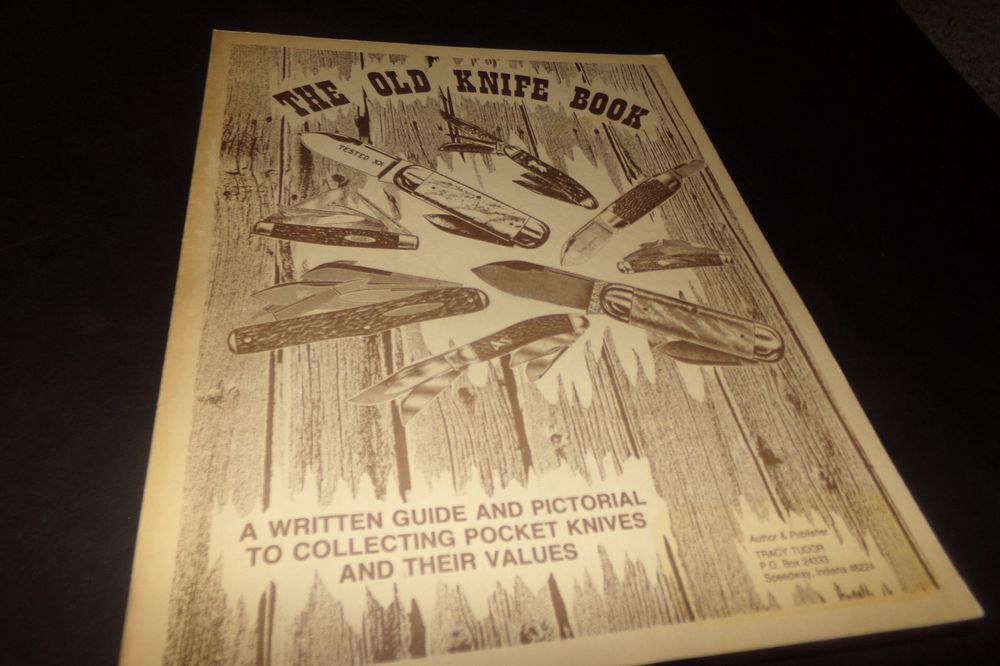 Vintage The Old Knife Book w Values Remington Hunting Winhester ...