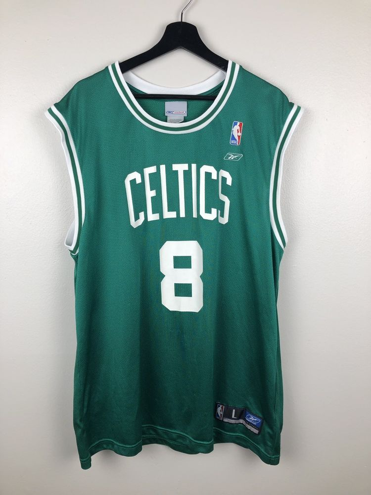 4b51fe9e0ae Reebok NBA Boston Celtics Walker Jersey Size L | 80s 90s vintage ...