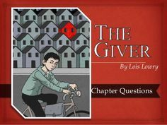 The Giver Novel Questions, Quizzes, and Activities | The Giver -- Food for thought: A great PPT for the book! Great combo of discussion questions and encourages critical thinking.