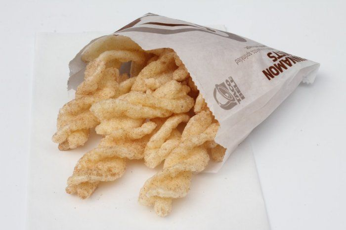 are cinnamon twists from taco bell gluten free