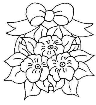 Flores Para Colorear E Imprimir Gratis Disenos De Arte Bordados A Mano Dibujos Flores Bordadas