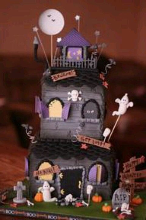 Pin by Richelle Richard on Halloween sucré Pinterest Cake - cake decorations for halloween