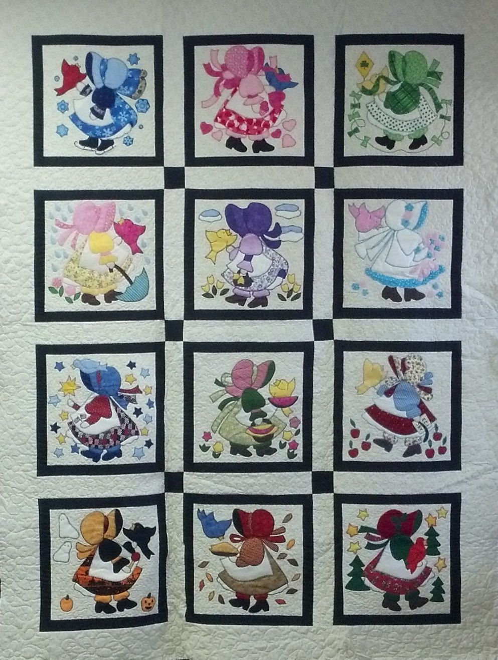 Beverly Landers Sunbonnet Sue There S A Block For Each