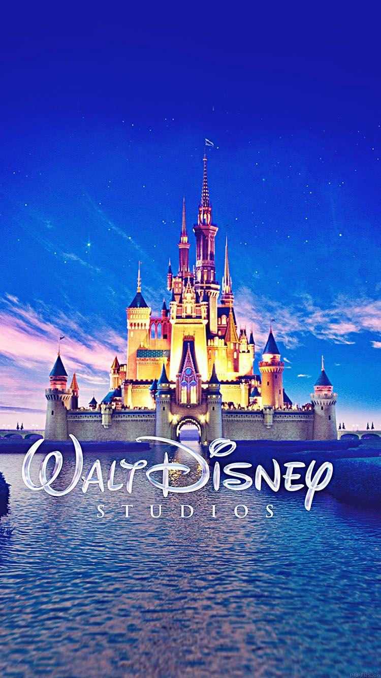 Wallpaper Walt Disney Studios Castle Illust Wallpaper Hd Iphone