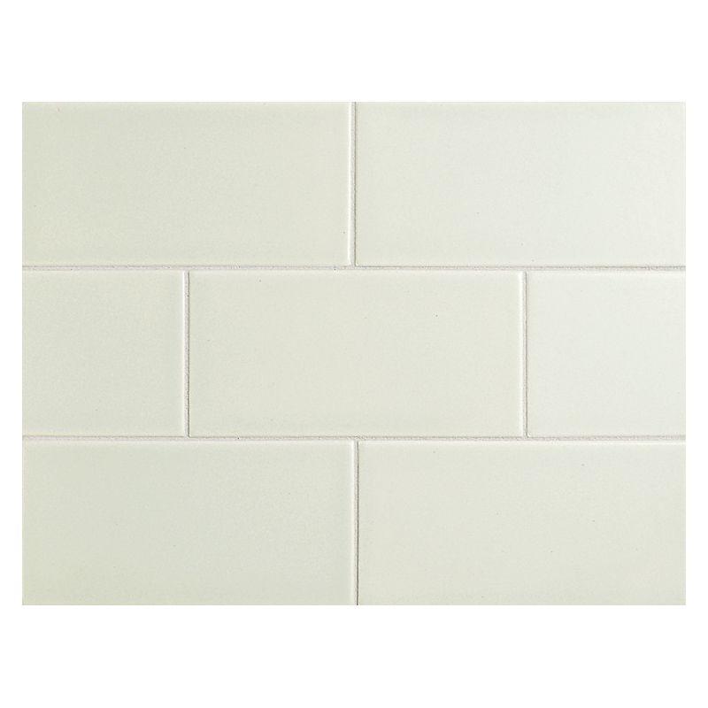 "Complete Tile Collection Vermeere Ceramic Tile - Serene Green - Matte, 3"" x 6"" Manhattan Ceramic Subway Tile, MI#: 199-C1-312-041, Color: Serene Green"
