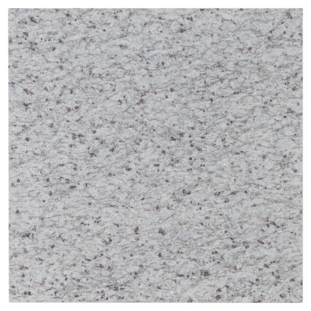 Kashmir White Leather Granite Tile 18in X 18in 100074285