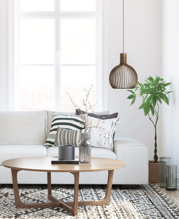 joli salon épuré #style #decoration #interiordesign #scandinave ...