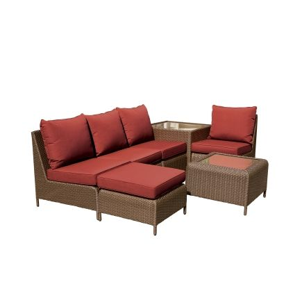 Living Accents Bergen Bay 7 Piece Patio Seating Set - All ... on Living Accents Patio id=47405