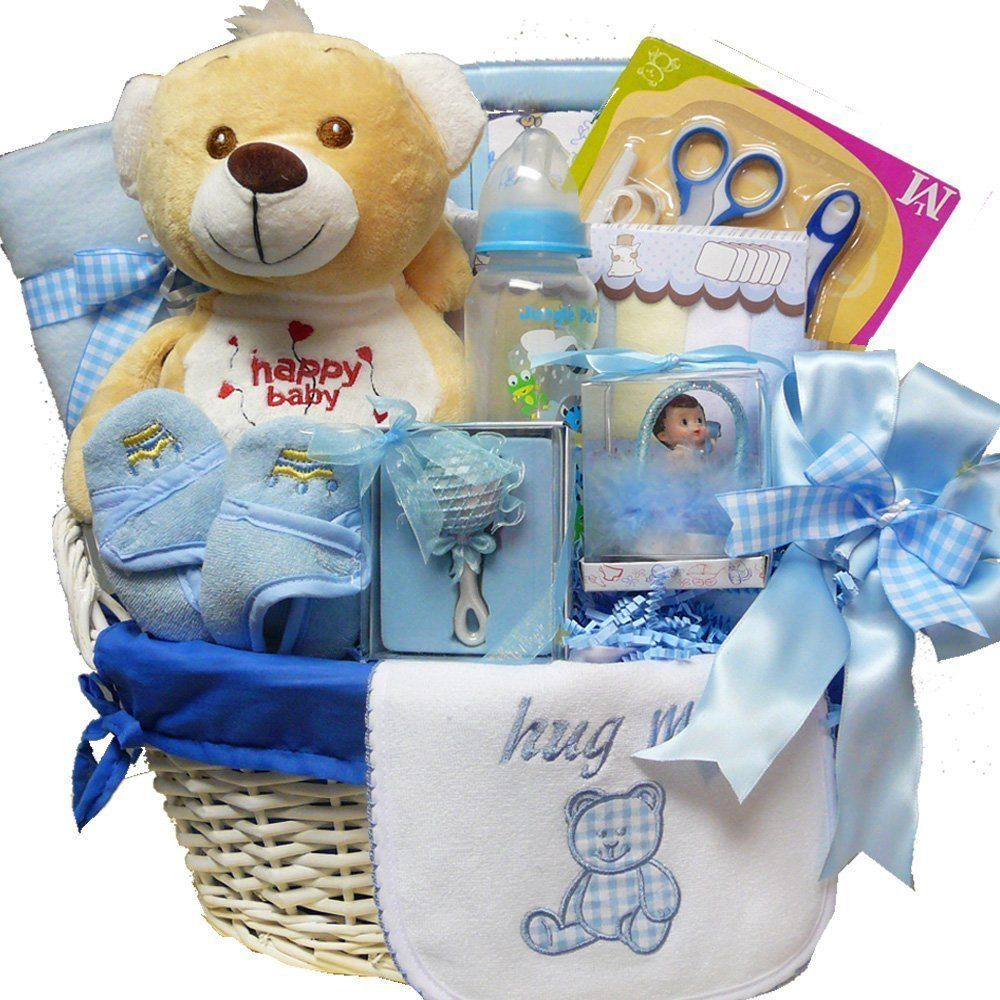 New baby boy celebration gift basket baby boy gift baskets new baby boy celebration gift basket baby boy gift baskets pinterest baby boy gift baskets keepsakes and babies negle Image collections