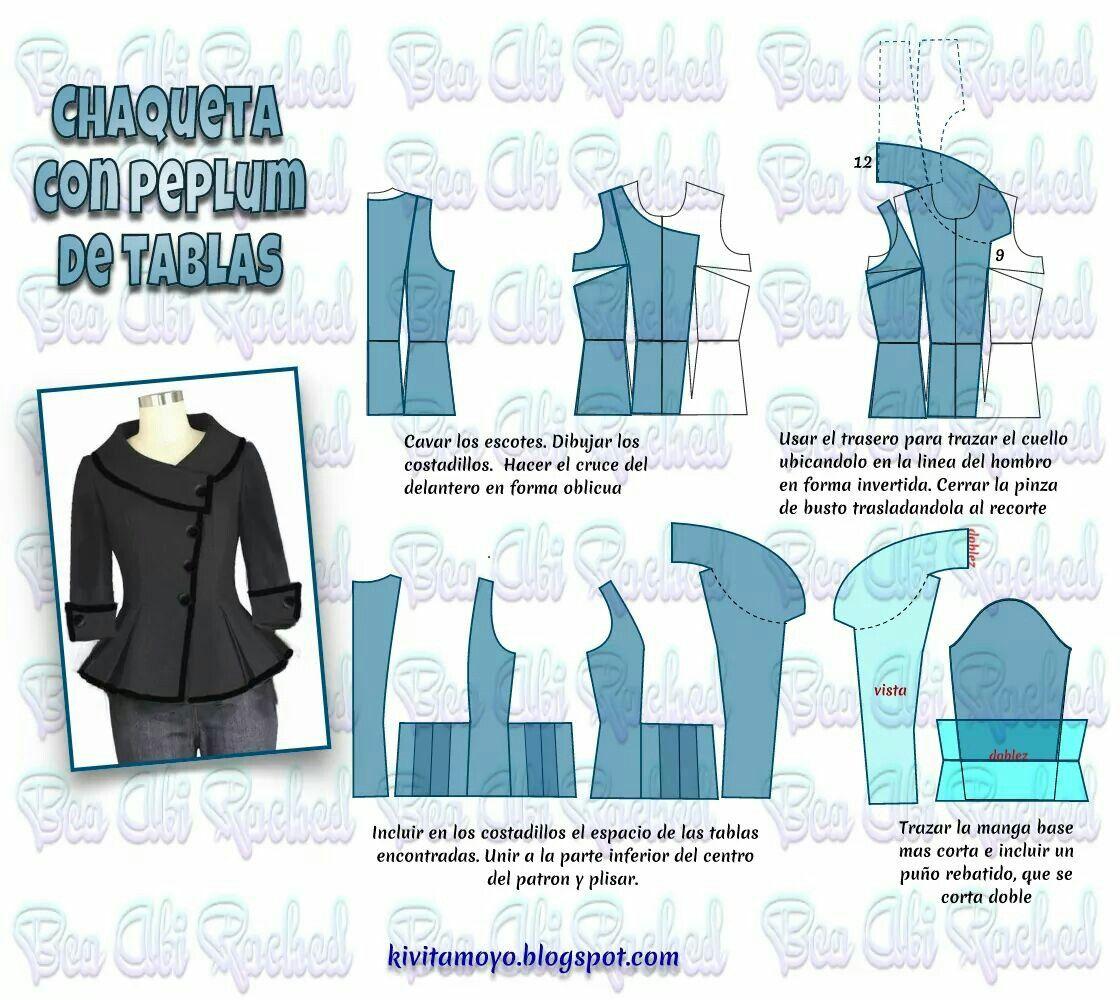 Pin de Gabriela Teresa en corte y confección de prendas de vestir ...