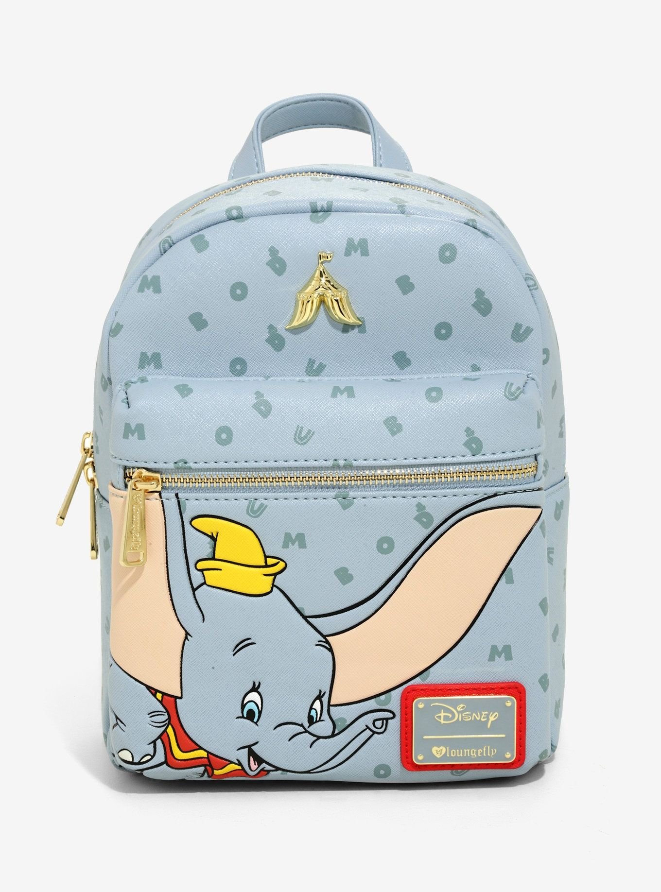 0d7397ca0f67 Loungefly Disney Dumbo Letters Mini Backpack - BoxLunch Exclusive in ...