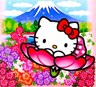 Hello Kitty / Mt.Fuji JAPAN