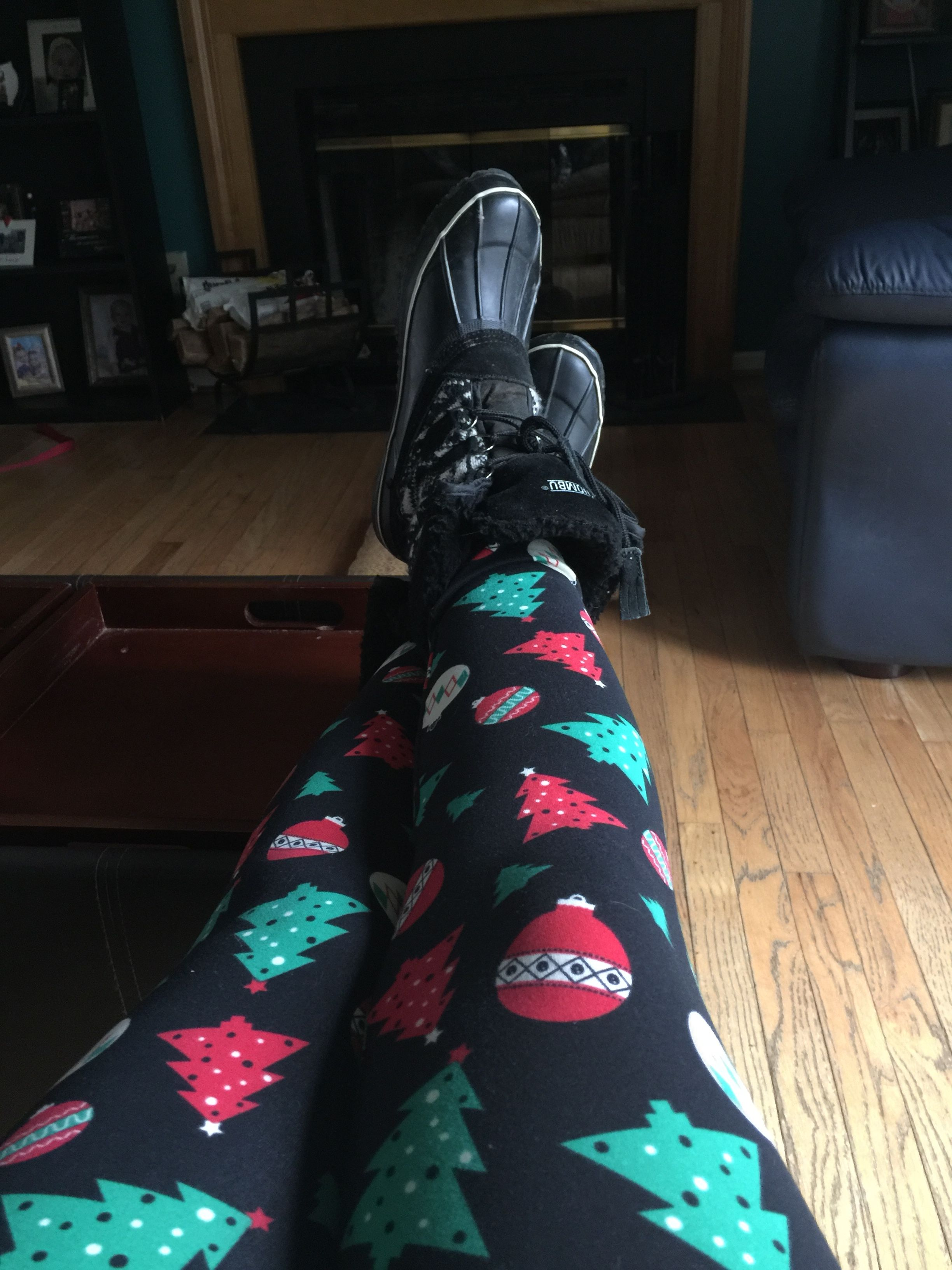 LulaRoe Christmas Leggings S//M ~ Ho Ho Ho