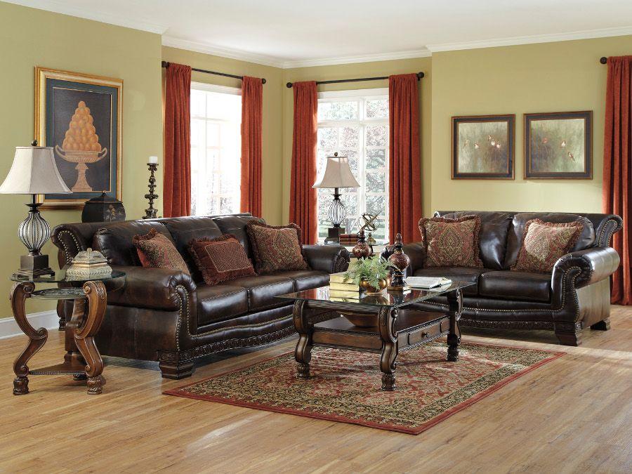 Ladelle Antique Sofa & Loveseat #sofa #loveseat #livingroom #rana  #ranafurniture #furniture #miami - Ladelle Antique Sofa & Loveseat #sofa #loveseat #livingroom #rana