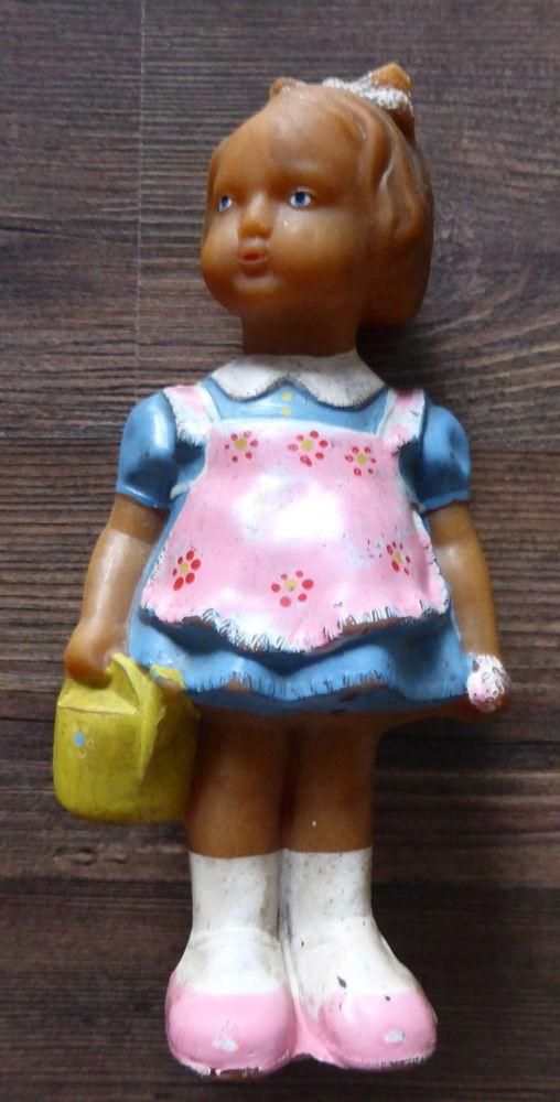 Alte Puppe Ddr Ostalgie Spielzeug Ca 17 Cm In Sammeln Seltenes