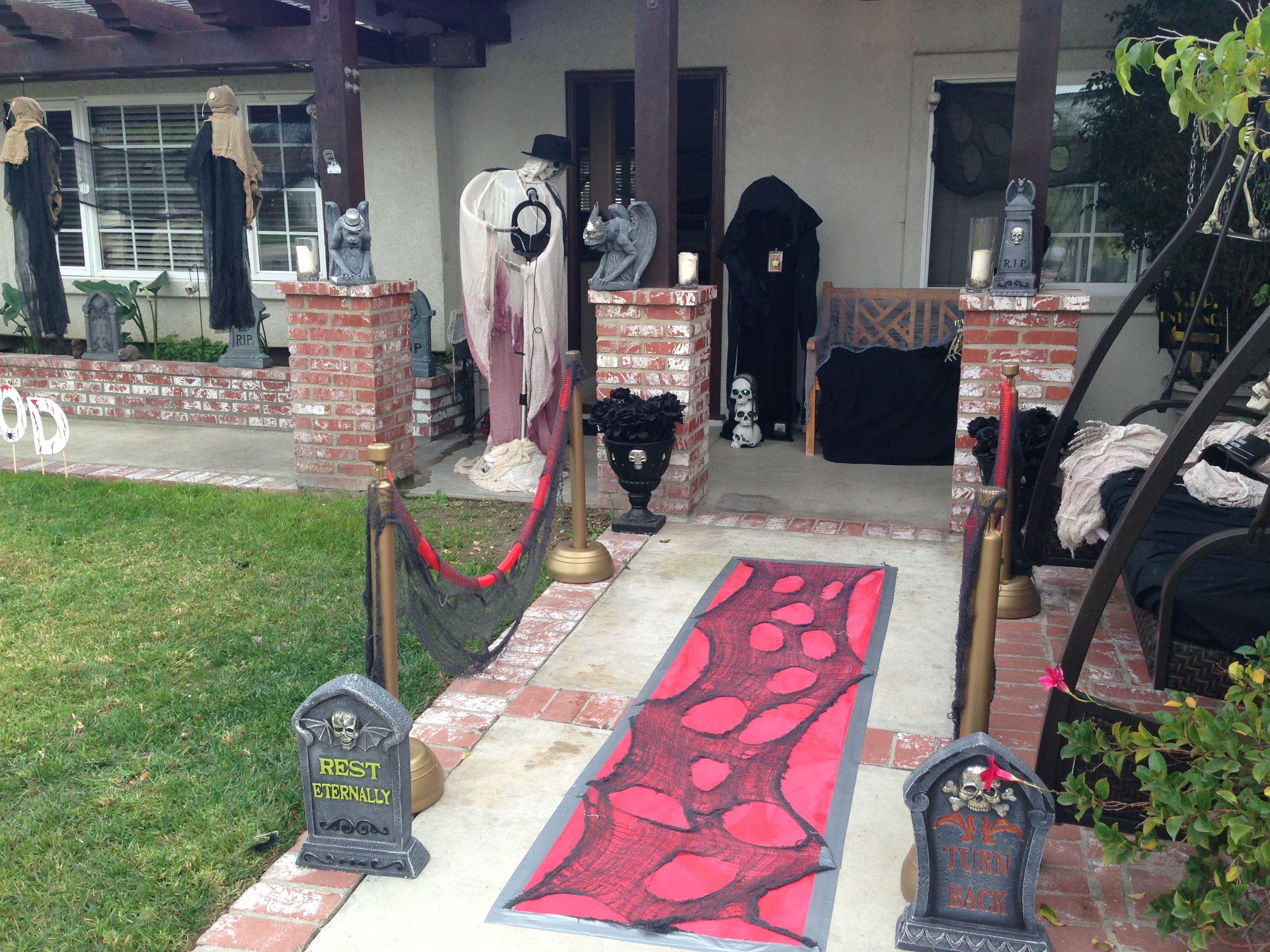 Halloween decoration... Haunted Hollywood Halloween