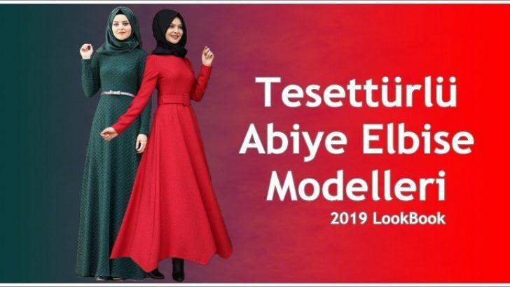 4215157eed8a1 Tesettür Abiye Elbise Modelleri 2019 Koleksiyonu   Tesettür Abiye ...