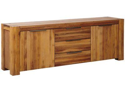 Mobel Esszimmer Sideboards Sideboard Montreal 2 Turig 3 Schubladen Teilweise Massive Eiche Artikelnummer 37200 Esszimmer Sofa Schubladen Eiche
