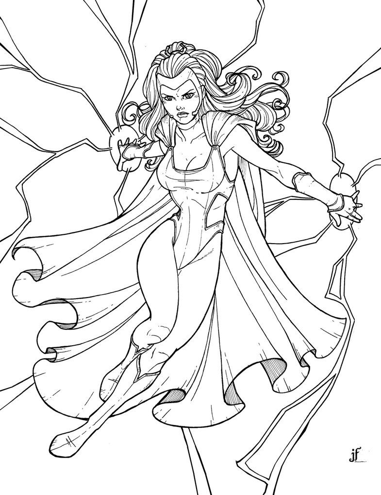 Superhero Coloring Pages Superhero coloring, Comic book