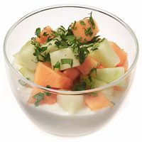 Awesome Honey Whipped Cottage Cheese With Melon Download Free Architecture Designs Scobabritishbridgeorg