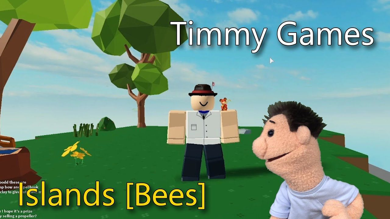 Roblox Islands Timmy Uppet Plays Roblox Islands Bees In 2020 Play Roblox Roblox Bee