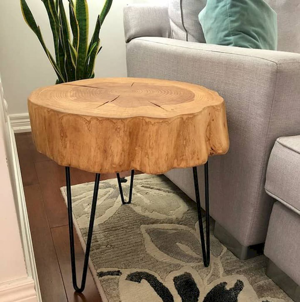 Impressive Stay Edge Espresso Tables That Seize Nature S Magnificence In Their Designs Wood Slice Coffee Table Coffee Table Wood Wood Slice Decor [ 1030 x 1024 Pixel ]