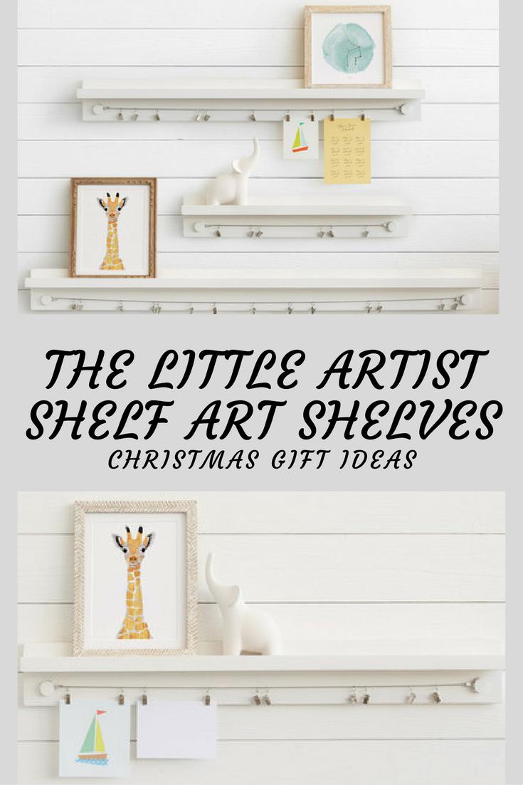 $98 Minted The Little Artist Shelf Art Shelves Christmas gift ideas ...