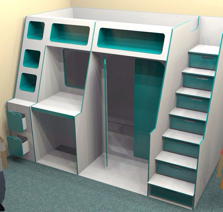 Cabin Beds With Shelves Google Search