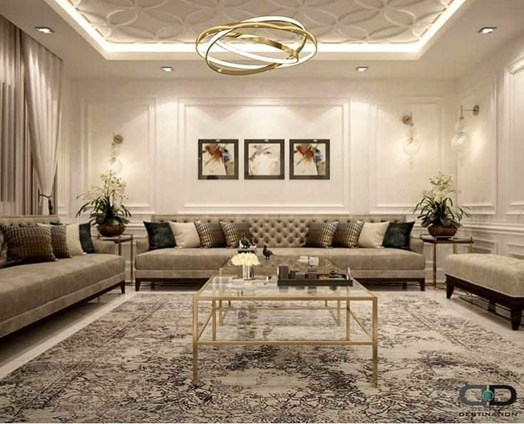 Pin By Hawra On Houses Interiors In 2020 Living Room Decor Curtains White Bedroom Decor Living Room Decor Apartment
