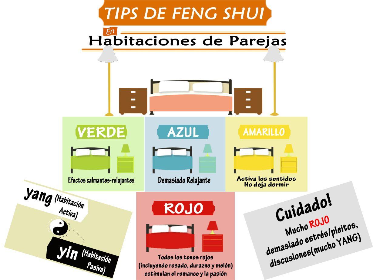 En el Feng Shui trabajamos con los colores de los 5 elementos ...